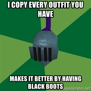 Runescape Advice - I COPY EVERY OUTFIT YOU HAVE MAKES IT BETTER BY HAVING BLACK BOOTS