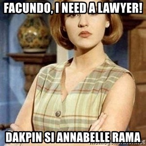 Chantal Andere - Facundo, I need a lawyer! Dakpin si Annabelle Rama