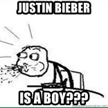 Cereal Guy Spit - Justin bieber Is a BOY???