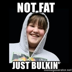 Samin makro - Not fat Just bulkin'