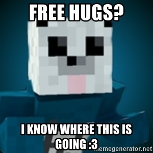 R-Panda - Free HugS? I know where this is going :3