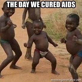 african children dancing - the day we cured aids