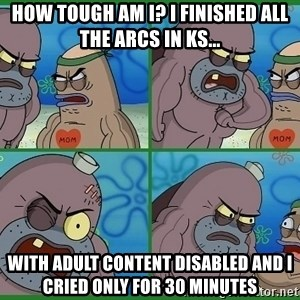 How tough are you - How tough am I? I finished all the arcs In KS... With adult content disabled and i cried only for 30 minutes
