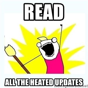 All the things - Read all the heated updates