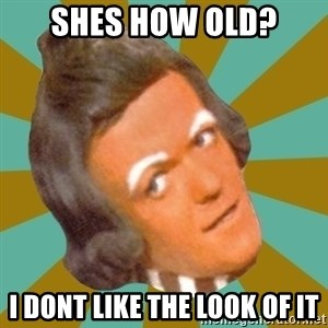 Oompa Loompa - Shes how old? I dont like the look of it