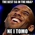 Kobe Bryant - The best sg in the nba? ne i tomo