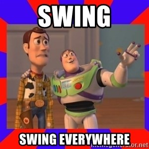 Everywhere - Swing swing everywhere