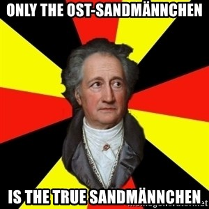 Germany pls - Only the Ost-Sandmännchen Is the True Sandmännchen