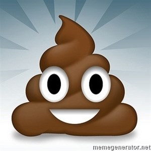 Facebook :poop: emoticon -