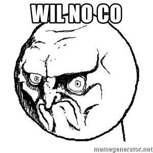 No Rage Face - wil NO CO