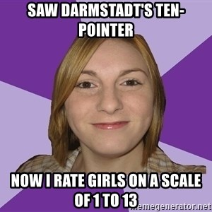 Generic Fugly Homely Girl - saw darmstadt's ten-pointer now i rate girls on a scale of 1 to 13