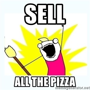 All the things - Sell All the pizza