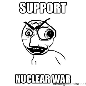 Cuddler - Support Nuclear war