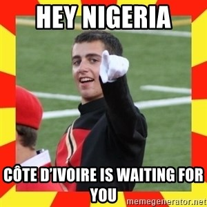 lovett - hey Nigeria  Côte d'Ivoire is waiting for you