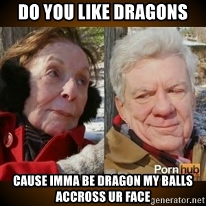 Pornhub's Super Bowl Ad - do you like dragons cause imma be dragon my balls accross ur face