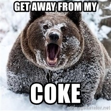 Cocaine Bear - get away from my coke