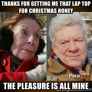 Pornhub's Super Bowl Ad - thanks for getting me that lap top for christmas honey the pleasure is all mine