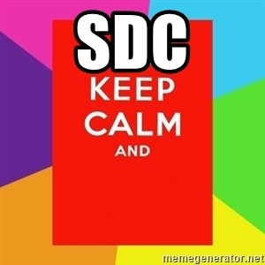 Keep calm and - sdc