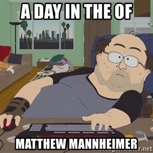 Ozzfag - a day in the of  Matthew mannheimer
