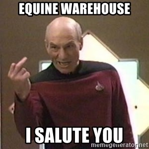 Picard Finger - equine warehouse i salute you