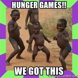 african kids dancing - HUNGER GAMES!! WE GOT THIS