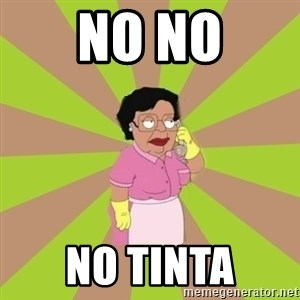 Consuela Family Guy - No no no tinta