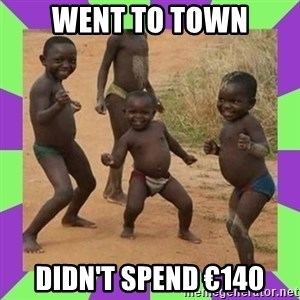 african kids dancing - WENT TO TOWN DIDN'T SPEND €140