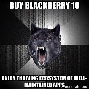 Insanity Wolf - buy blackberry 10 enjoy thriving ecosystem of well-maintained apps