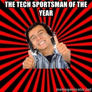 Bad Luck Chuck - THE TECH SPORTSMAN OF THE YEAR
