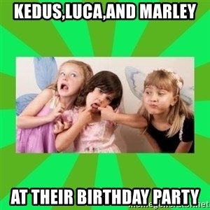 CARO EMERALD, WALDECK AND MISS 600 - KEDUS,LUCA,AND MARLEY AT THEIR BIRTHDAY PARTY