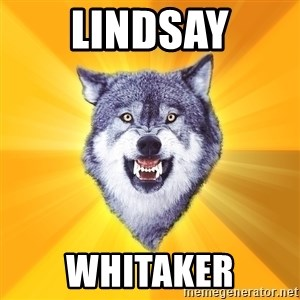 Courage Wolf - Lindsay whitaker