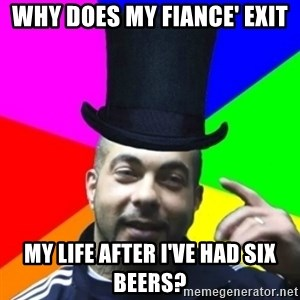 facebookazad - Why does my fiance' Exit My life after I've had six beers?