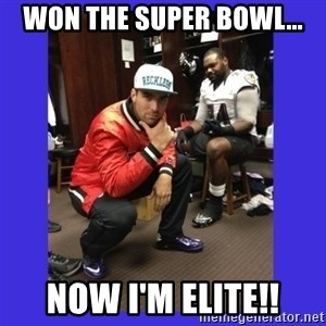 PAY FLACCO - WON THE SUPER BOWL... NOW I'M ELITE!!