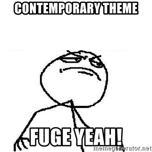 Fuck Yeah - CONTEMPORARY Theme Fuge Yeah!