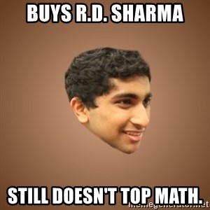Handsome Indian Man - BUYS R.D. SHARMA STILL DOESN'T TOP MATH.