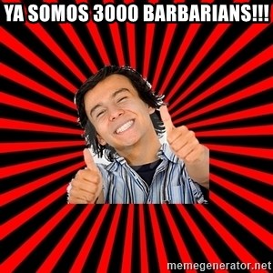 Bad Luck Chuck - YA SOMOS 3000 BARBARIANS!!!