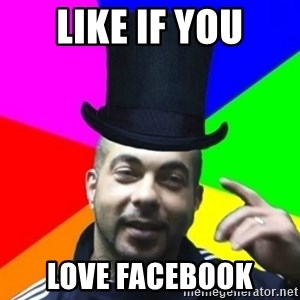 facebookazad - LIKE IF YOU LOVE FACEBOOK
