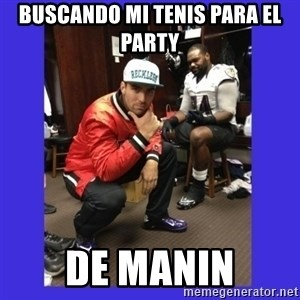 PAY FLACCO - BUSCANDO MI TENIS PARA EL PARTY  DE MANIN