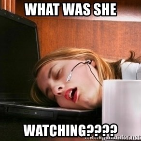 Freelancer  - WHAT WAS SHE WATCHING????