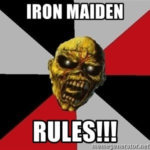 Eddie the Head - iron maiden  rules!!!
