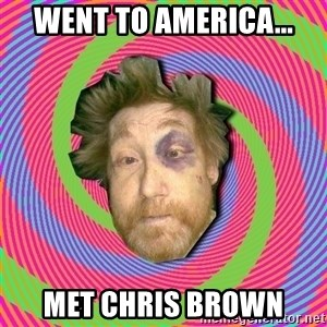 Russian Boozer - WENT TO AMERICA... MET CHRIS BROWN