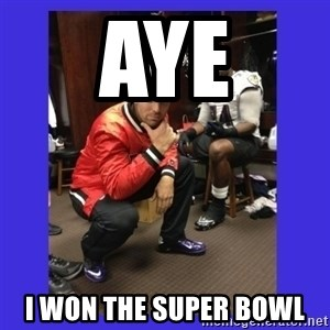 PAY FLACCO - Aye I won the Super bowl