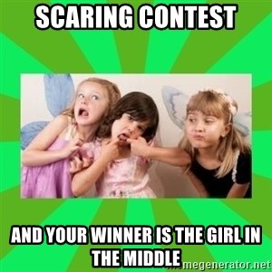 CARO EMERALD, WALDECK AND MISS 600 - SCARING CONTEST AND YOUR WINNER IS THE GIRL IN THE MIDDLE