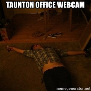 Party Jesus - taunton office webcam