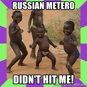african kids dancing - Russian metero didn't hit me!