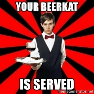typical_off - your beerkat is served