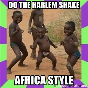 african kids dancing - DO THE HARLEM SHAKE AFRICA STYLE