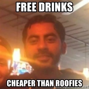Andy Infante Best Bartender - free drinks cheaper than roofies