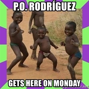 african kids dancing - P.o. Rodríguez  Gets here on monday