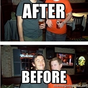 Before and After - AFTER BEFORE